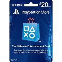 $20 Psn Card [código Digital]