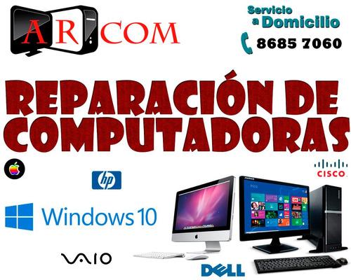 Reparación De Computadoras En Heredia, Servicio A Domicilio
