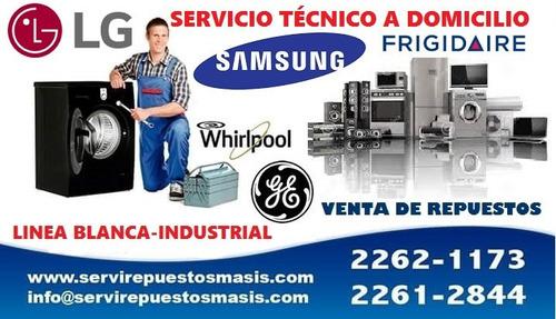 Reparacion De Lavadoras,refrigeradoras,secadoras,cocinas