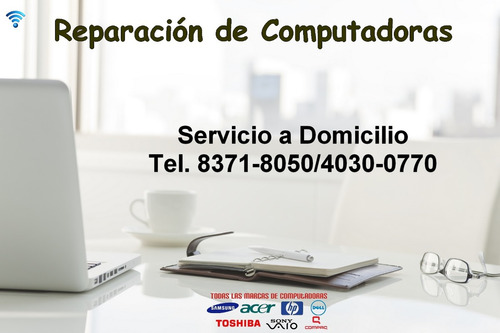 Reparacion De Notebook, Pc Y Laptops A Domicilio - Windows