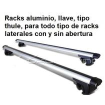 Racks En Aluminio, Tipo Thule, Con Llave, Sistema Antirobo