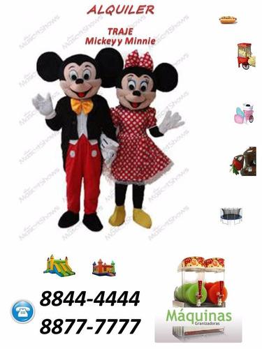 Trajes Disfraz Elsa Miniie Mickey Peppa