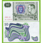 Billete De Suecia 10 Kronor 1983, P-52e.3  Unc .mlc   NUMISMATICAMALECA